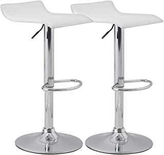 Best brown faux leather bar stools Reviews