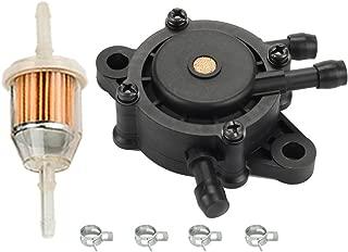 HIPA Fuel Pump for John Deere LA110 LA115 LA145 LA105 LA120 LA125 LA130 LA135 LA140 LA150 LA155 LA165 LA175 Lawn Mower w Fuel Filter Tune Up Kit
