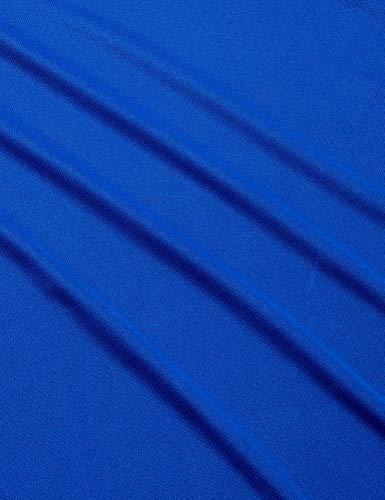 『(エーディーワン)A.D.ONE QUICKDRY クイックドライ ゴルフシャツ 吸汗速乾機能 ハーフジップシャツ スポーツシャツ AD-786B』の3枚目の画像