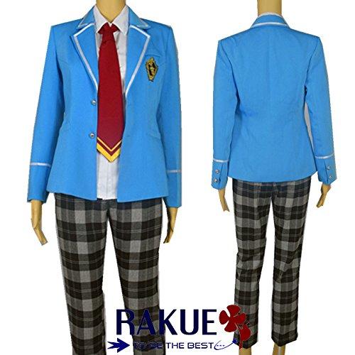 『あんさんぶるスターズ! 夢ノ咲学院 男子制服 コスプレ衣装 ネクタイ3色セット XL,女性』の2枚目の画像