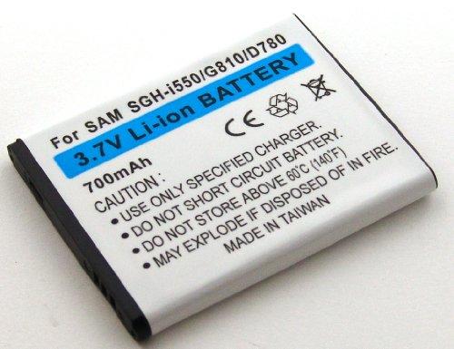 Akku kompatibel mit Samsung B5722, B7722i, I7110 Pilot, I8510 INNOV8, SGH-D780, SGH-G810, SGH-i550