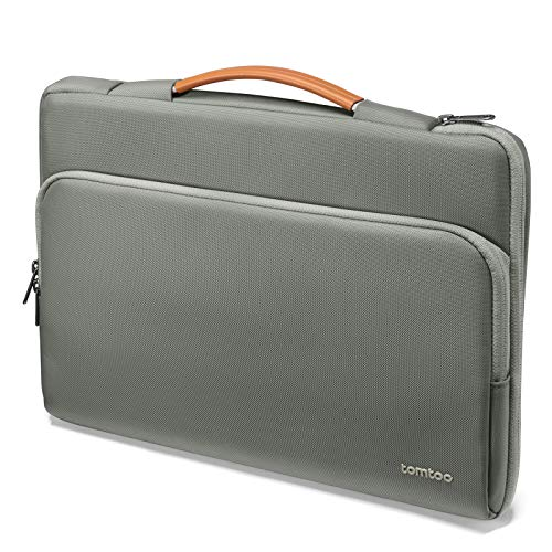 "tomtoc Laptop Case Compatible with 12.3' Surface Pro X/7/6/5, 13' New MacBook Air M1/A2337 A2179 2018-2021, 13"" MacBook Pro M1/A2338 A2251 A2289 2016-2021, Dell XPS 13, Briefcase with Accessory Bag"