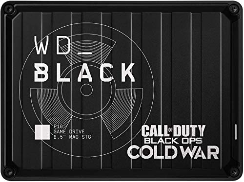 WD_BLACK P10 Game Drive de 2 TB - Edición Especial de Call of Duty: Black Ops Cold War - Funciona con PC/Mac y PlayStation