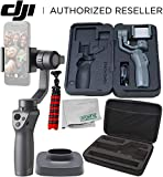 DJI Osmo Mobile 2 Handheld Smartphone Gimbal Stabilizer Must-Have Bundle (Renewed)