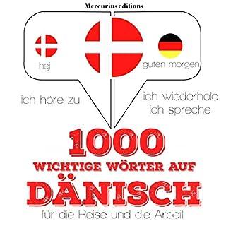 1000 wichtige Wörter auf Dänisch für die Reise und die Arbeit Titelbild