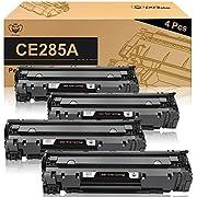 CMYBabee Compatible Toner Cartridges Replacement for HP 85A CE285A for HP Laserjet Pro P1102w P1109w M1212nf M1217nfw MFP Printer(Black, 4-Pack) (Black)