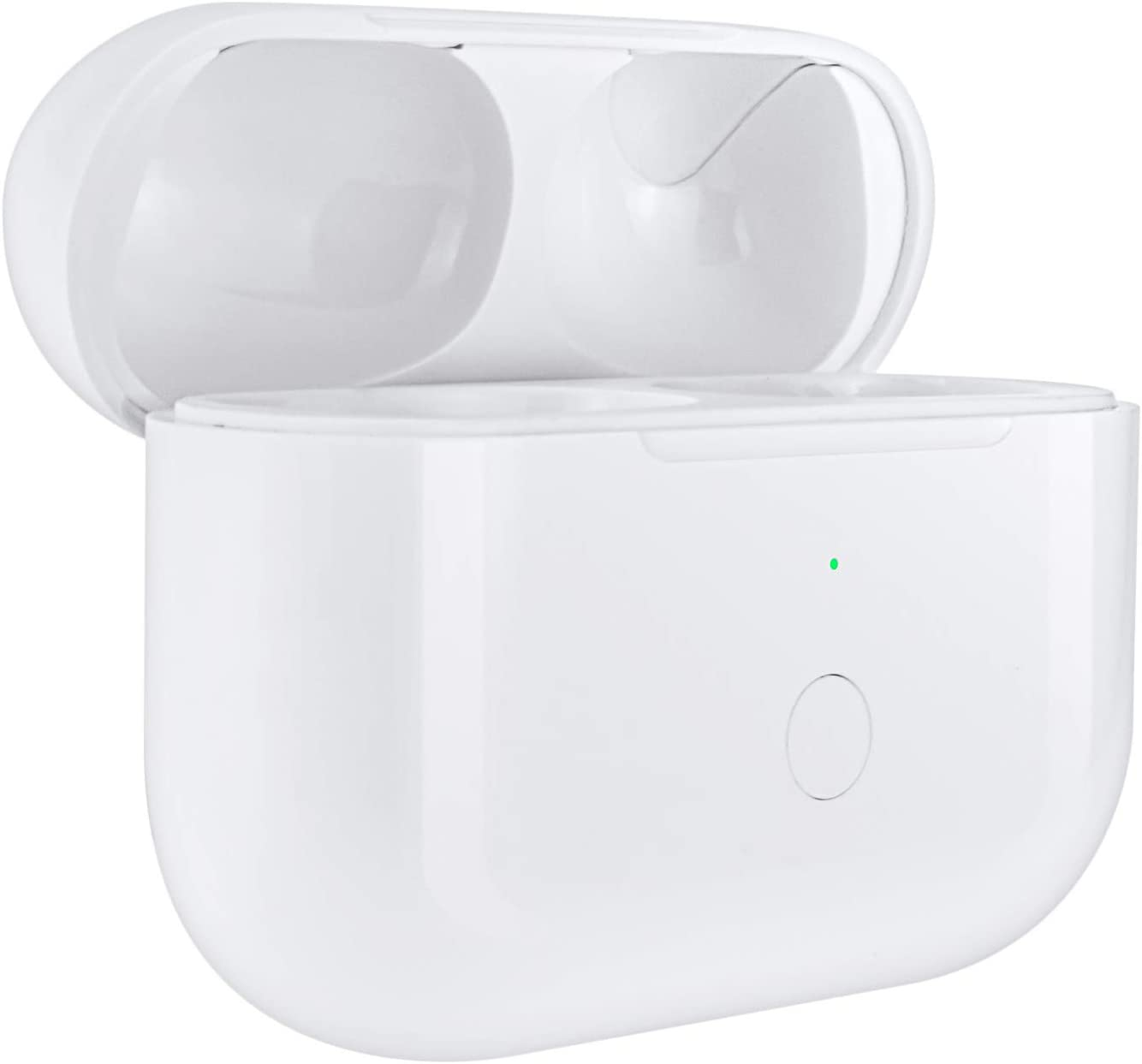 SibyTech Compatible with for Earbuds pro Charger Case with Sync Button, Compatible with for Wireless Air pods Pro Charging Case Replacement (White)