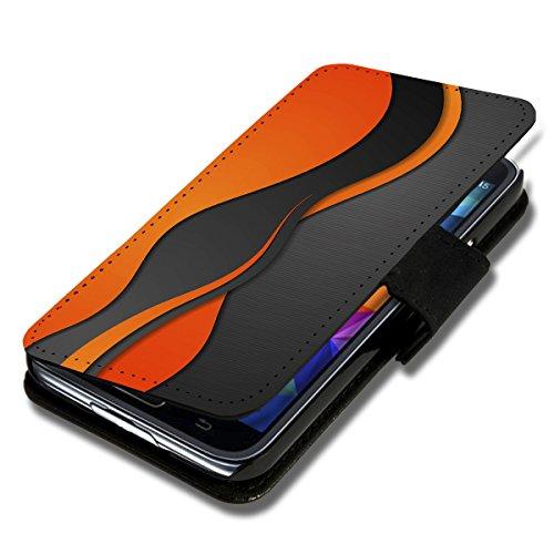 wicostar Book Style Flip Handy Tasche Hülle Schutz Hülle Schale Motiv Etui für Wiko Birdy - Flip 1A49 Design6