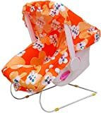 TruGood Baby's Multi-Use Swing Rocker Bouncer Bather Car Seat Carry Cot with Mosquito Net (Multicolour)