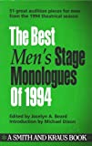 The Best Men's Stage Monologues of 1994