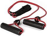 SportPlus 2-teiliges Trampolin Expander Set mit Handgriffen für noch mehr Übungen, schnelle und...