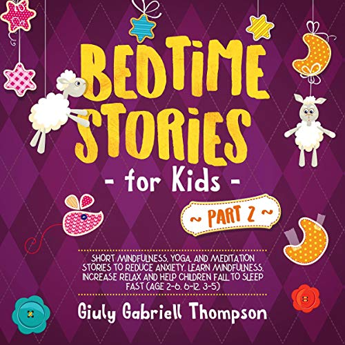 Bedtime Stories for Kids Vol. 2 audiobook cover art
