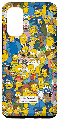 Galaxy S20 The Simpsons Springfield Characters Print Case
