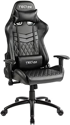 Techni Sport TS-5100 Ergonomic High Back Racer Style Video Gaming Chair. in Color