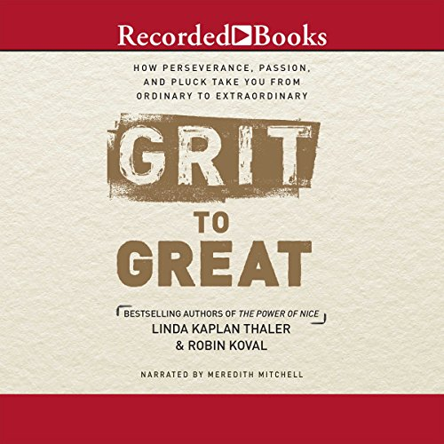 Grit to Great audiobook cover art