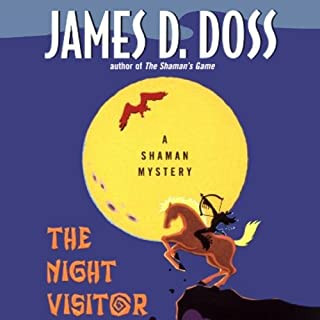 The Night Visitor audiobook cover art