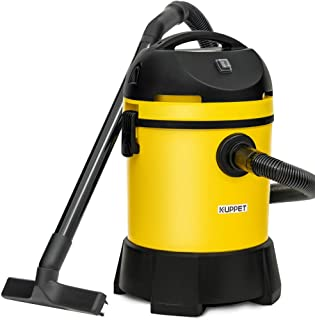 KUPPET Wet/Dry Vacuum, 4 in 1 Vacuum Cleaner, 8 Gallon, 4.5 Horsepower, Pump Water