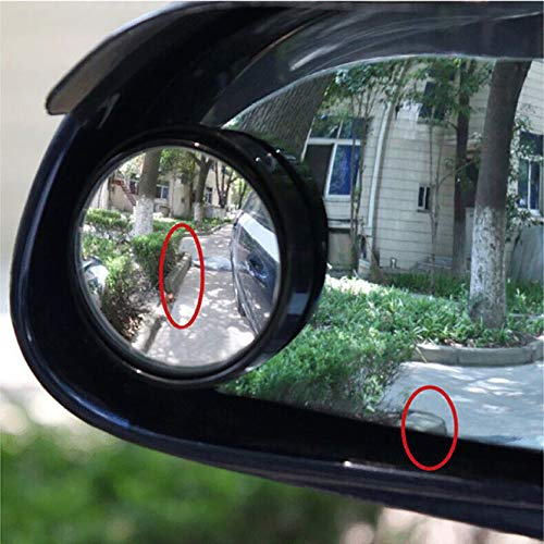 Auto ronde spiegel dode hoek achteruitrijcamera voorzetlens groothoeklens