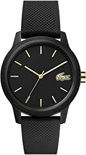 Lacoste Womens Quartz Watch, Analog Display and Silicone Strap 2001064