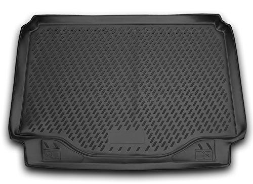 AD Tuning TMP25011 Passform Kofferraumwanne, Anti-Rutsch Oberfläche, schwarz