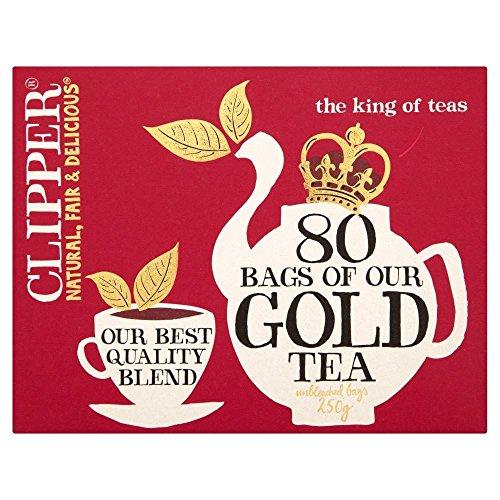 Clipper Gold Tea 80 per pack