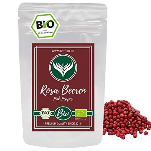 Azafran BIO Rosa Beeren Pfeffer ganz - Rosa Pfefferkörner 250g