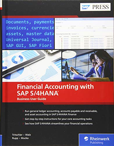 Financial Accounting with SAP S/4hana: Business User Guide