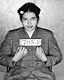 Woman Activist ROSA Parks Mugshot - Vivid Imagery Laminated Poster Print-20 Inch by 30 Inch Laminated Poster With Bright Colors And Vivid Imagery