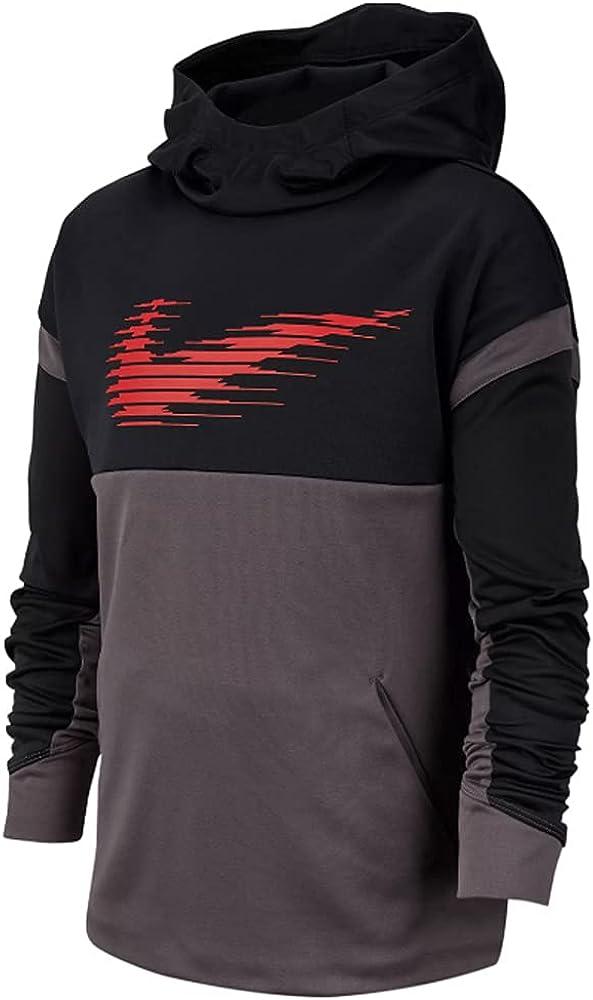 Nike Kids Boy's Therma Graphic Pullover Hoodie (Big Kids)