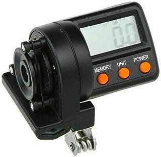 Lanbowo Contador Digital de línea de Pesca con Clip con Pantalla Digital LED de Longitud máxima de medición 999,9 m