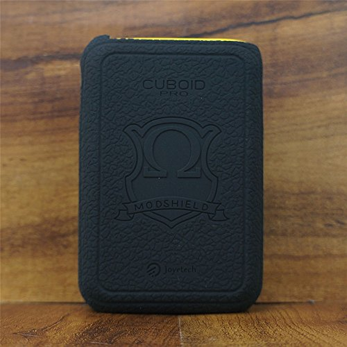 ModShield for Joyetech CUBOID Pro Touch Screen 200W TC Silicone Case ByJojo Cover Sleeve Shield Wrap (Black)
