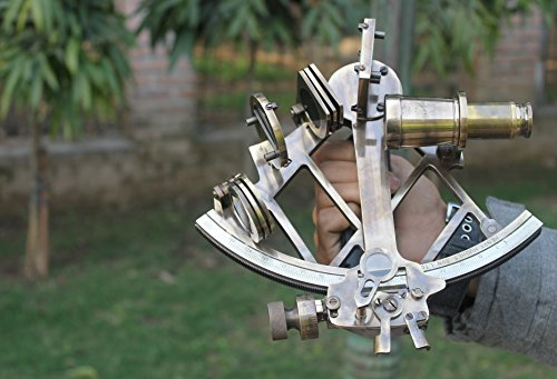 Sextant vintage by EUPHORIA sextant antik| sextant funktionsfähig| sextant navigation| sextant deko| TAMAYA sextant marine metall messing deko marine neu