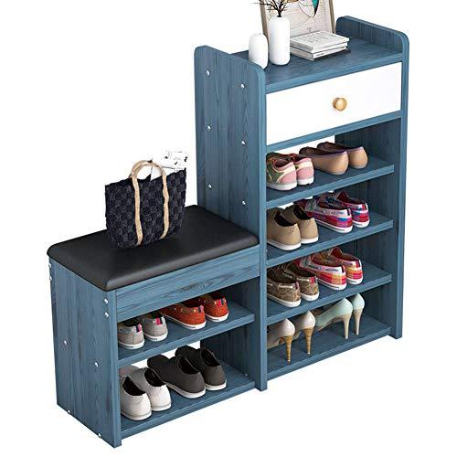 RNYY Changement de Chaussure Tabouret Simple Tabouret de Rangement Moderne Maison Armoire à Chaussures Rangement Canapé Tabouret Petite étagère à Chaussures