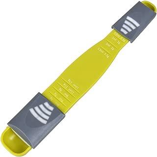 Measuring Spoon Adjustable,1 Pack Double Sided Metering Spoon for Dry or Liquid Ingredients,Gram and ML Measuring Spoon,Kitchen Metric Spoon for Baking,Cooking,Coffee,Sugar,Salt,Milk,Powder,Spices