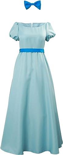 alta calidad general rojoJade Princesa Vestido Wendy Darling Princess Princess Princess Dress Traje de Cosplay personalización  tienda en linea