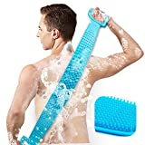 Best Back Scrubbers - Inmorven Back Scrubber Silicone Shower Brush Body Brush Review
