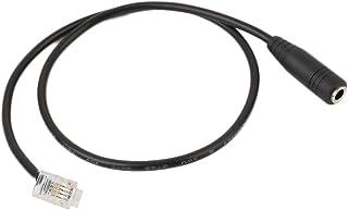 Cewaal Headset Buddy PC35-RJ9Cisco - Adaptador de audífonos (PC35-RJ9Cisco, 3.5 mm) para Aastra Avaya Inter-Tel