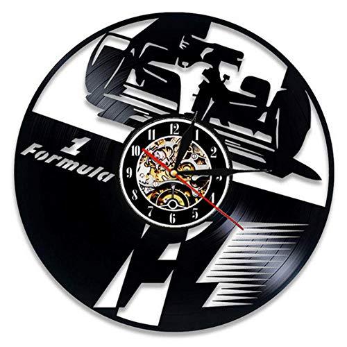 Dwqlx Reloj De Pared De Disco De Vinilo De Fórmula 1 Diseñ