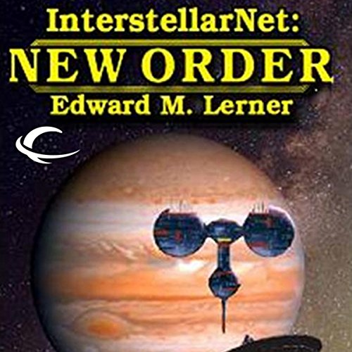 InterstellarNet: New Order, Book 2 audiobook cover art