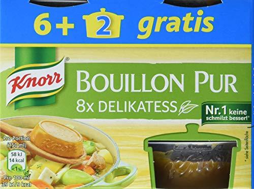 Knorr Bouillon Pur Delikatess, 8 x 224g = 1792g