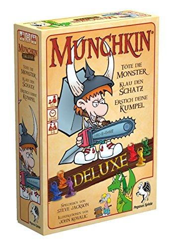 Pegasus Spiele 17223G - Card Deluxe Munchkin