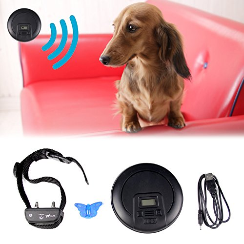 PENSON & CO. Digtal Wireless Indoor Pet Barrier Electronic Dog Fence Wireless Pet Containment Covers up to 12ft