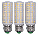 TZHILAN E27 LED Glühbirnen Superhelle 10W Kronleuchterlampen Äquivalent 120 W Warmweiß 3000K...