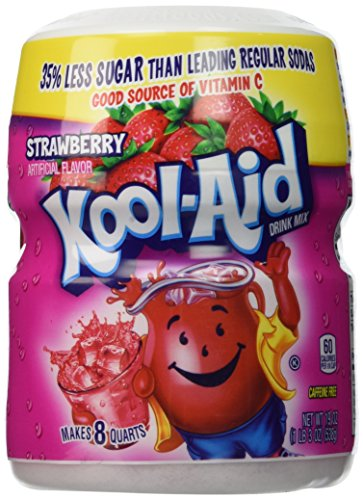 Kool-Aid Strawberry Soft Drink Mix 19 oz