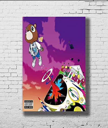 Kanye West Graduation Cute Bear Rap Poster No Frame (24 x 36)