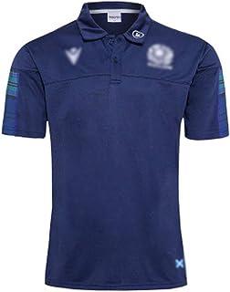 ラグビー 服ラグビージャージ2019-20新しいスコットランドのホームコートTシャツのラグビーウェア,通気性とウェアラブルのラグビー服,納期が速い