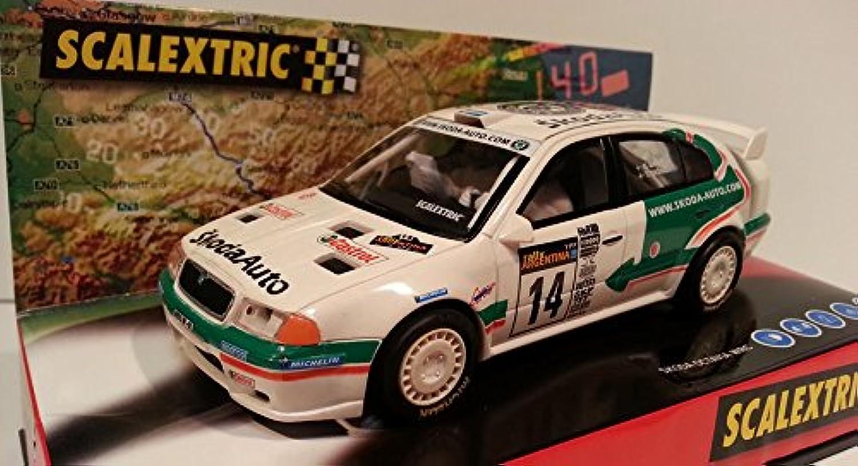opciones a bajo precio Scalextric Scalextric Scalextric Slot SCX 6124 Skoda Octavia WRC K.Eriksson No14  ahorra hasta un 80%