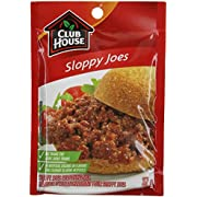 Club House Sloppy Joes Seasoning Mix, 37g/1.3oz., {Imported from Canada}