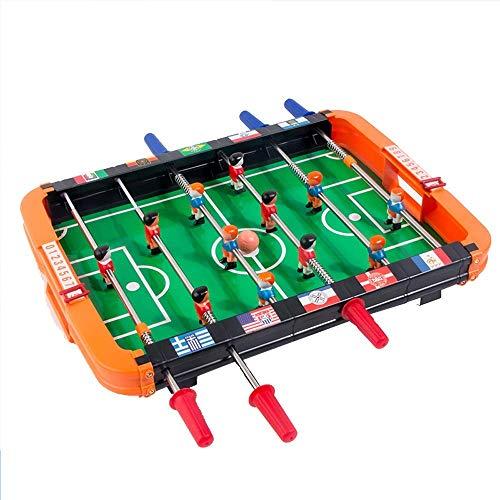 Kleine 6 achteraf Tafelvoetbal ABS tafelvoetbalspel Mini Tabletop Sport Voetbal Interactive Desktop Game Ouder-kind interactie Gifts Leisure Toys Holiday Verjaardag dongdong