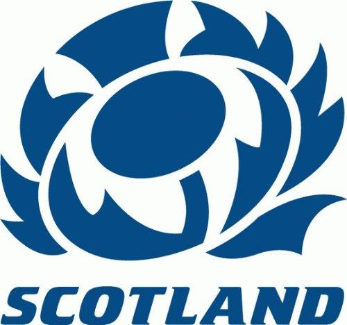 Scotland Rugby Hochwertigen Auto-Autoaufkleber 12 x 12 cm